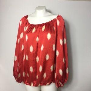 Vince Camuto Long Sleeve Blouse Women's XL